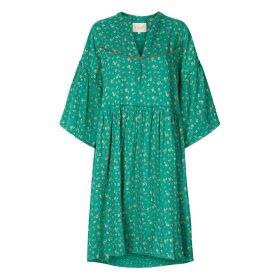 Lollys Laundry - FELINE DRESS | GREEN