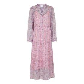 NEO NOIR - NOBIS VIVID BOTANIC DRESS | ROSE