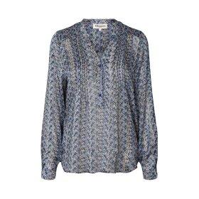 Lollys Laundry - HELENA SHIRT | BLUE
