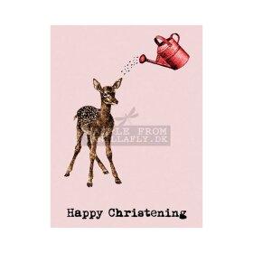 VANILLA FLY - GREETING CARD | HAPPY CHRISTENING
