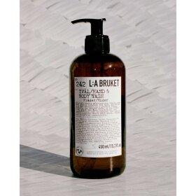 LA BRUKET - HAND/BODY SOAP 450 ML | ELDERFLOWER