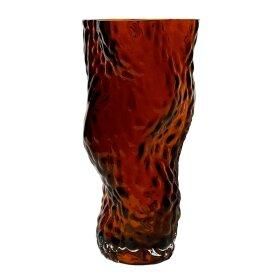 HEIN STUDIO - OSTREA ROCK GLASS VASE 30 CM | RUST