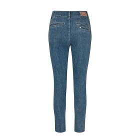 MOS MOSH - BLAKE RELOVED ANKLE JEANS | BLUE