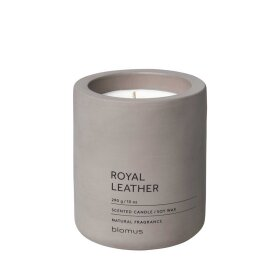 BLOMUS - FRAGA SCENTED CANDLE LARGE 11 CM | ROYALE LEATHER