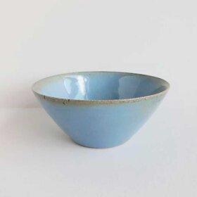 BORNHOLMS KERAMIKFABRIK - SMALL BOWL D14CM | BLUE MOSS