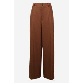 SIX Ames - LEANDRA PANTS | BROWN CHOCOLATE
