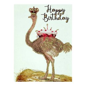 VANILLA FLY - GREETING CARD | HAPPY BIRTHDAY 258