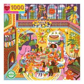 EEBOO - PUSLESPIL - FAMILY DINNER 1000 BRIKKER